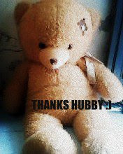NEW TEDDY BEAR :)
