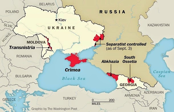 Russia's Expanding 'Evil' Empire In Ukraine And Elsewhere