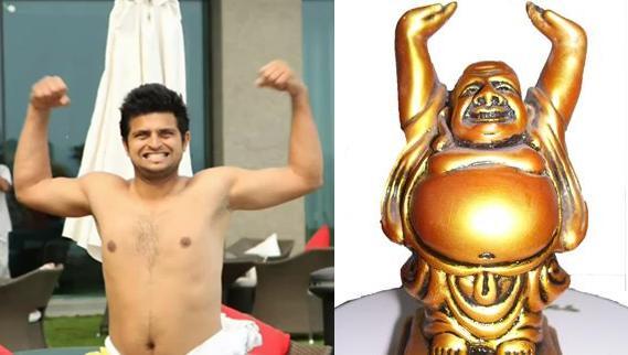Funny Pics Suresh Raina