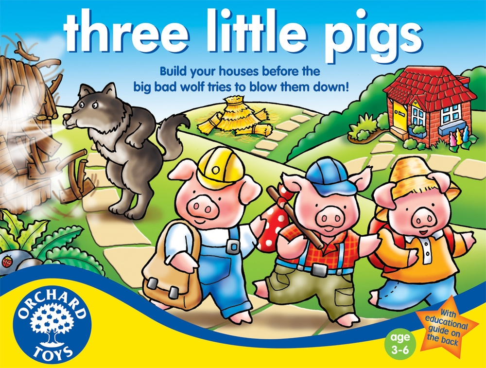 the three little pigs The story of the three little pigs once upon a time when pigs spoke rhyme and monkeys chewed tobacco, and hens took snuff to.