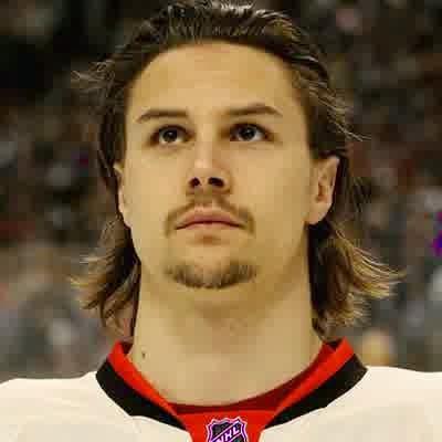 Erik Karlsson flow hair the simplest Hockey Hairstyles 2014