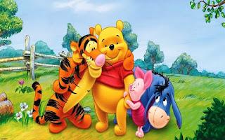 Gambar kartun Winnie The Pooh