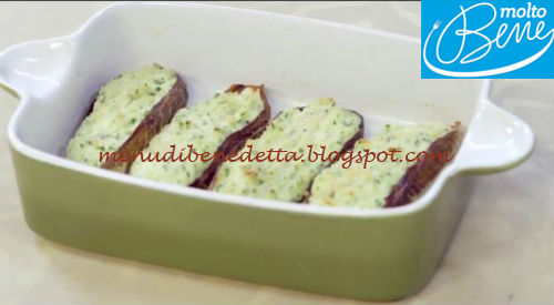Mousse di baccalà in foglie di radicchio ricetta Parodi per Molto Bene