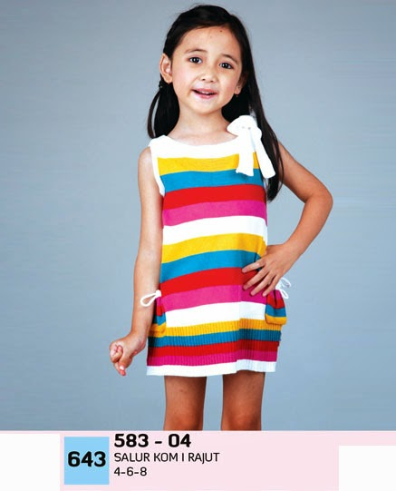 DRESS ANAK RAJUT