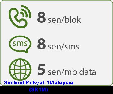 Simkad Rakyat 1Malaysia (SR1M), harga pek SR1M, kadar caj panggilan dan sms SR1M, rate SR1M, cara daftar kad sim SR1M, cara semak baki kredit SR1M, cara tambah nilai reload topup SR1M, SR1M jimat dan murah, senarai pengedar simkad SR1M, nombor telefon khidmat pelanggan customer care SR1M, nombor USSD SR1M, gambar Simkad Rakyat 1Malaysia - SR1M, kelebihan, kebaikan, manfaat SR1M pada pengguna