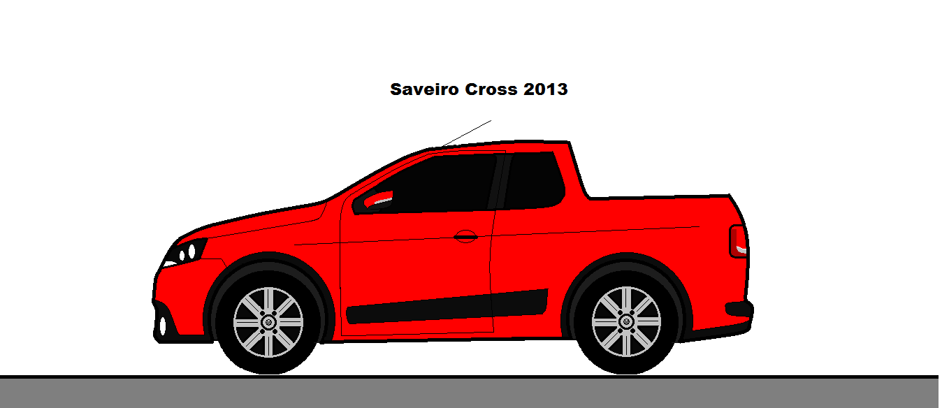 Saveiro Cross 2013 Dcp Design