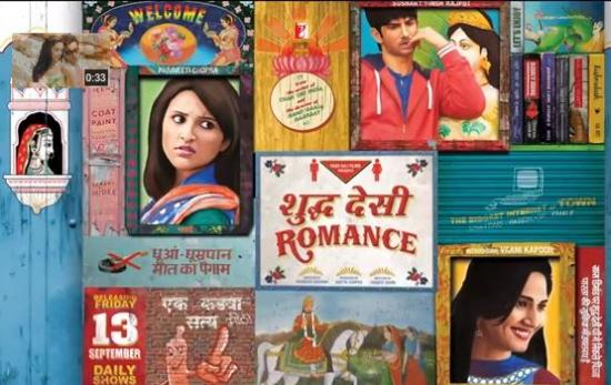 First Look of Shuddh Desi Romance starring Parineeti Chopra and Sushant Singh