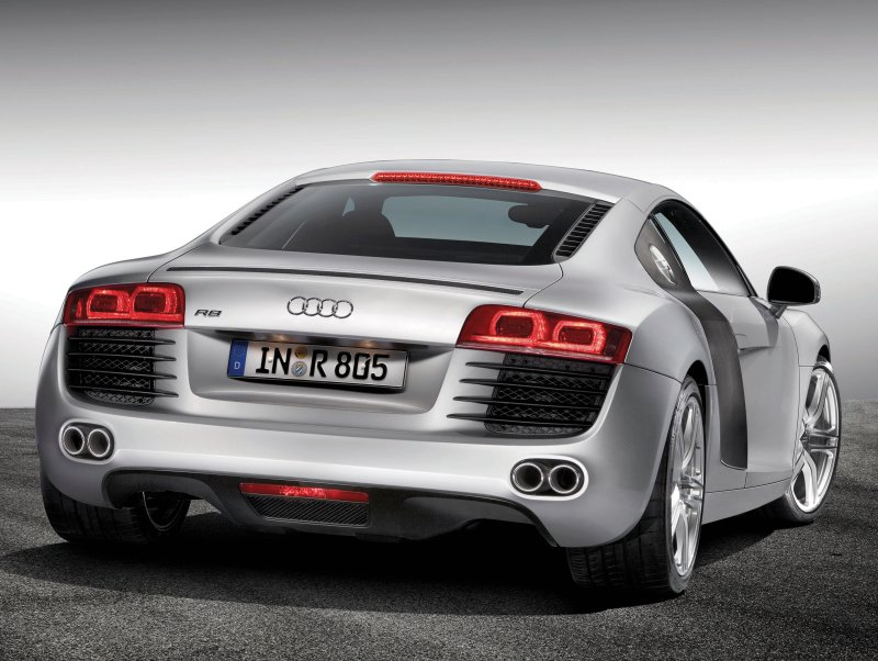 Best Cars in the World: Audi R8 Two door car