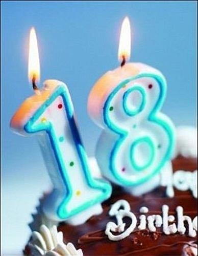 Поздравления с восемнадцатилетием картинки