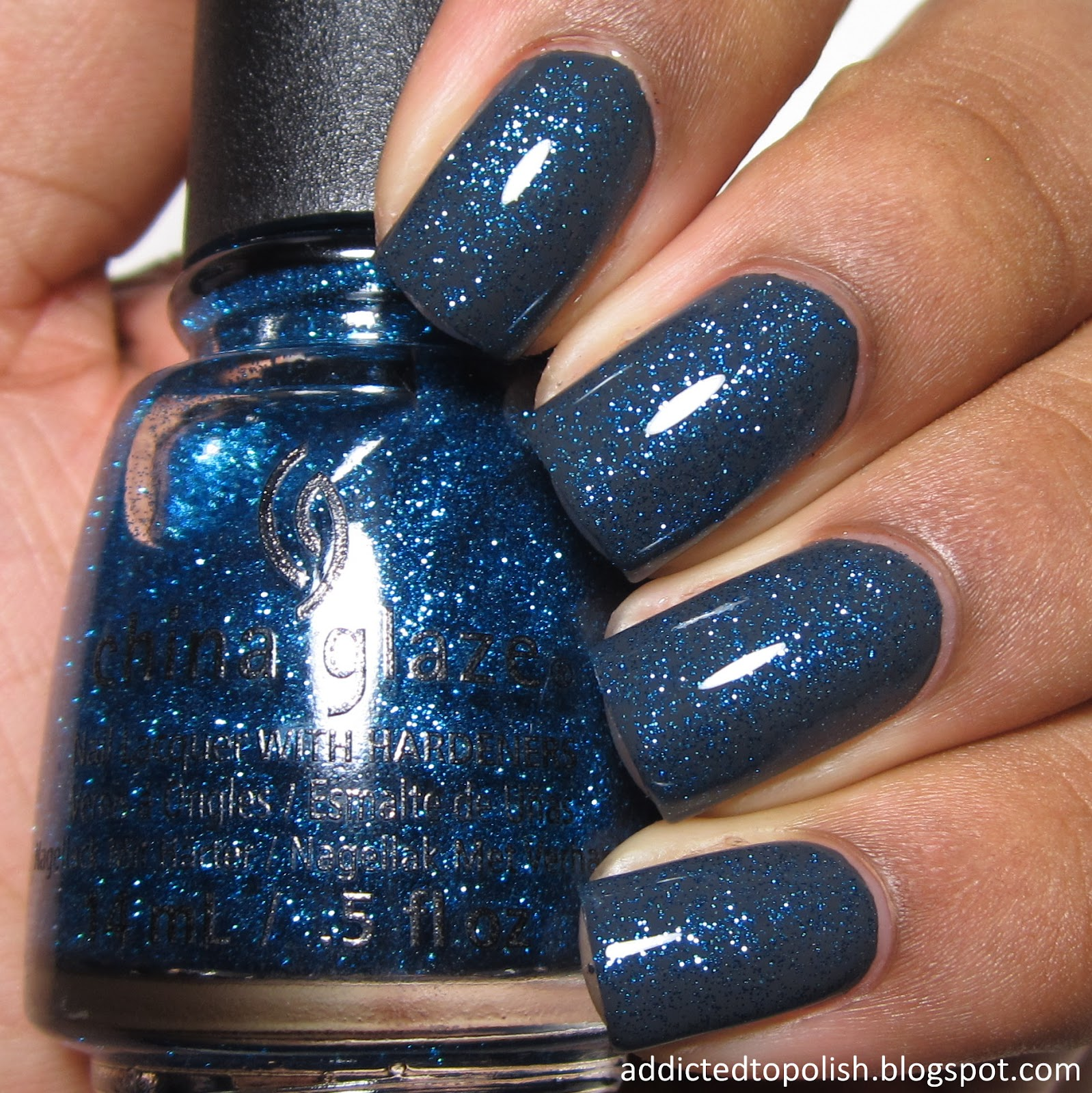 China Glaze Feeling Twinkly Layered Twinkle Winter 2014