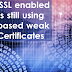 98% of SSL enabled websites still using SHA-1 based weak Digital Certificates