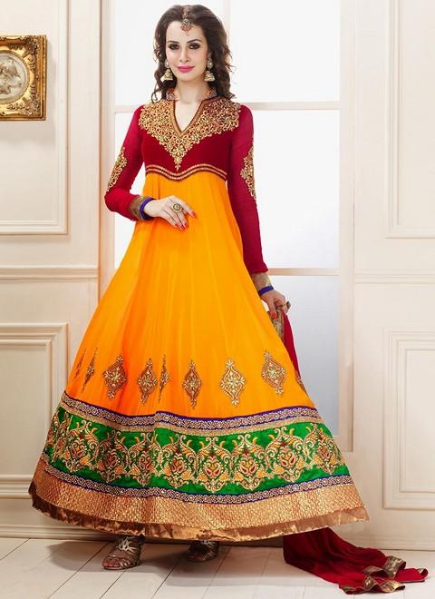 Best Anarkali Dresses From Famous Online Store