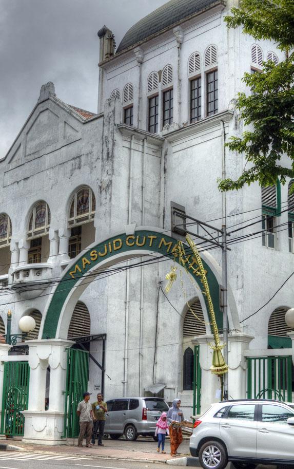 Cut Mutiah mosque in Menteng Jakarta