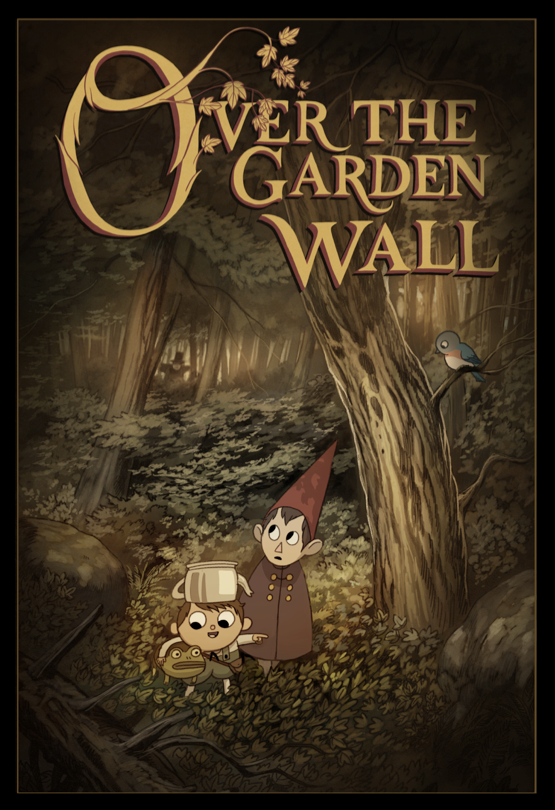 I Like Cartoons Over The Garden Wall