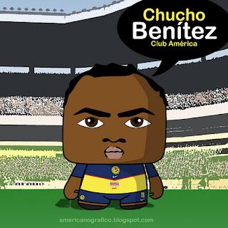 AMERICAnografico: Chucho Benítez (Toonix®) • 02012012CTG