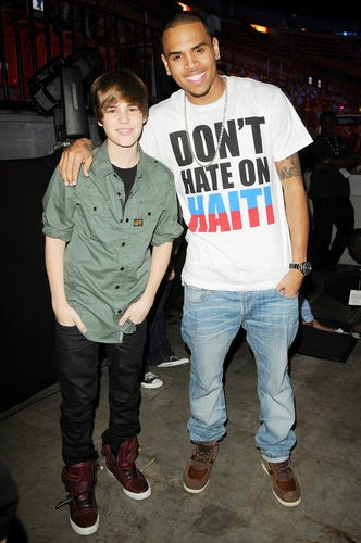 Justin Bieber and Chris Brown, pictures of gossip