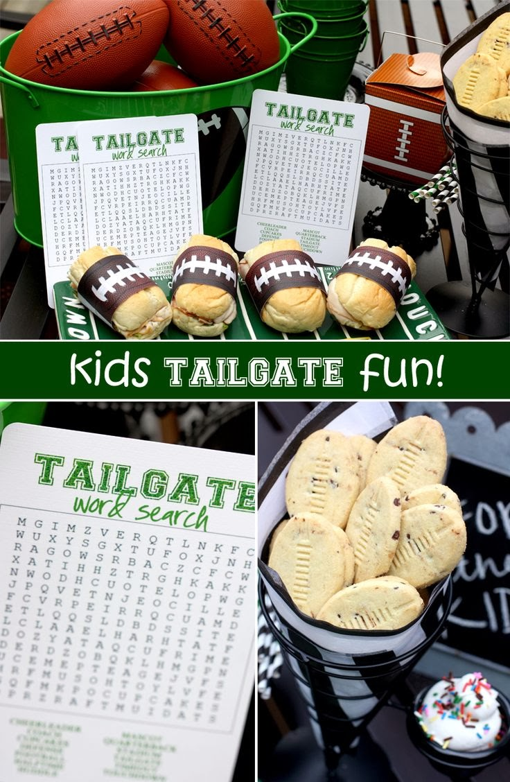 Tailgate Word Search by For Rent