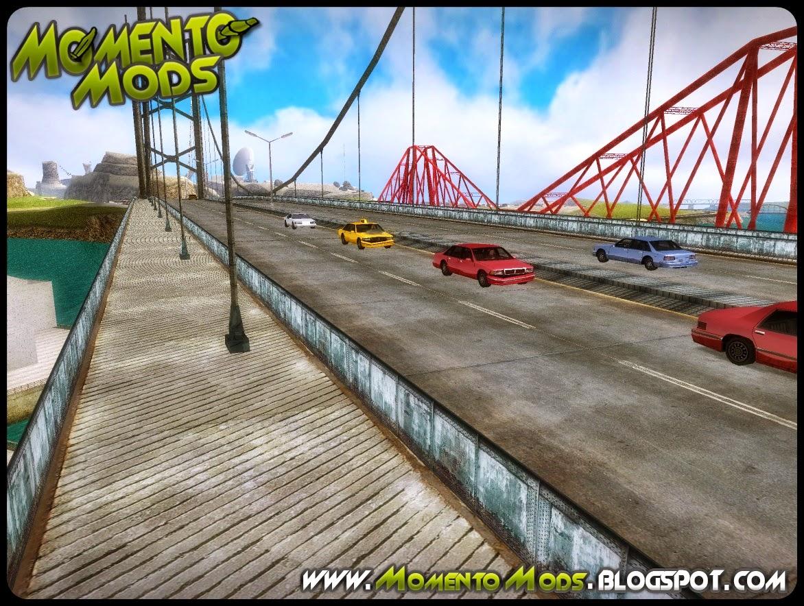 GTA SA - Garver Bridge Retextured IV