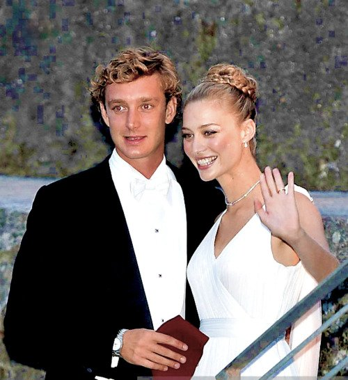 Religious Wedding reception of Pierre Casiraghi and Beatrice Borromeo