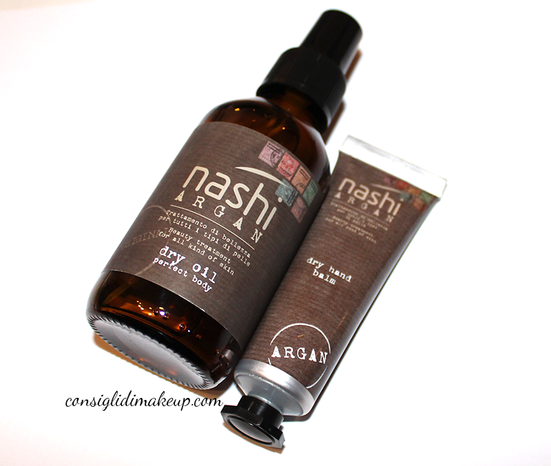 Review: Dry Oil Perfect Body & Dry Hand Balm - Nashi Argan