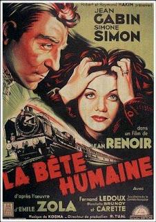 Cartel de cine clásico: La bestia humana | 1938 | La bête humaine