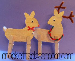 Standing Reindeer pattern and directions
