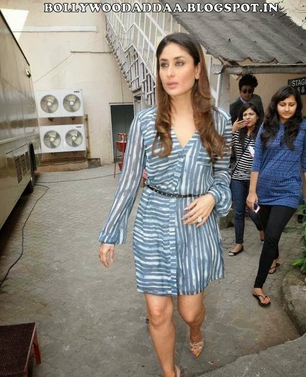 Kareena Kapoor looks hot on sets