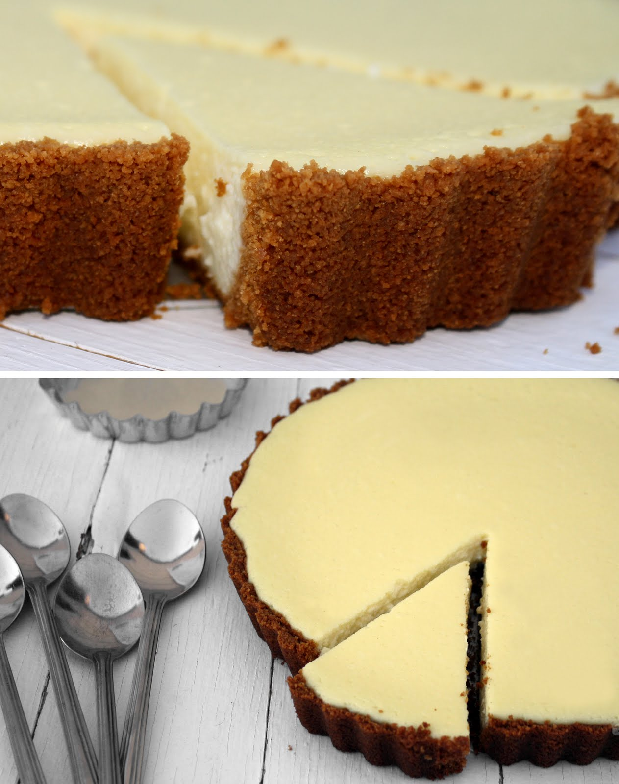 Delicious Shots: Lemon Ricotta Cheesecake Tart