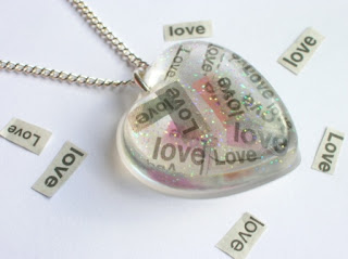 Message Necklace - Words of Love