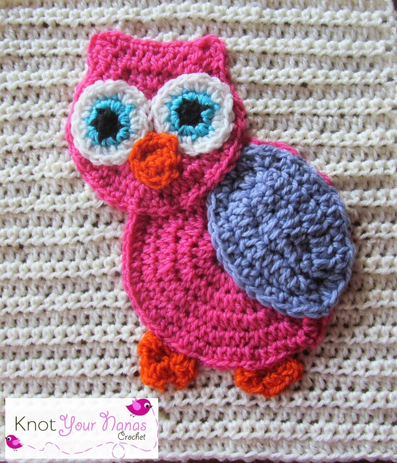 Knot Your Nana\'s Crochet: Little Blossom\'s Blanket