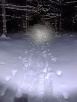 Nighttime ski tour.  The Saratoga Skier and Hiker, first-hand accounts of adventures in the Adirondacks and beyond, and Gore Mountain ski blog.