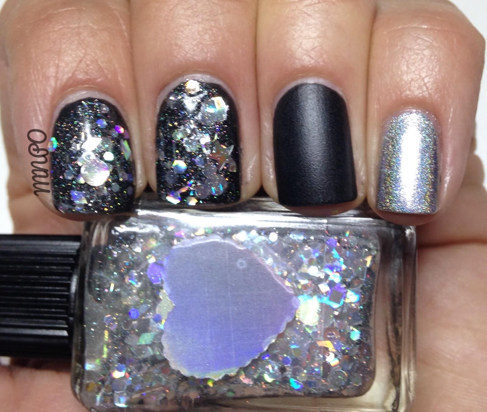 New Years Nail Polish: My Nail Polish Obsession: New Years Eve Nails