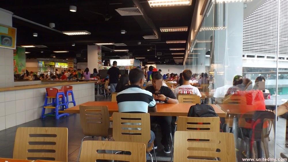 Crowd Suria Sabah Food Court
