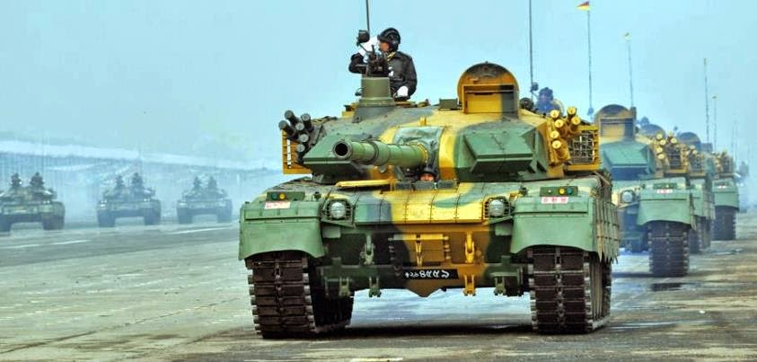Bangladesh Army Tank MBT-2000