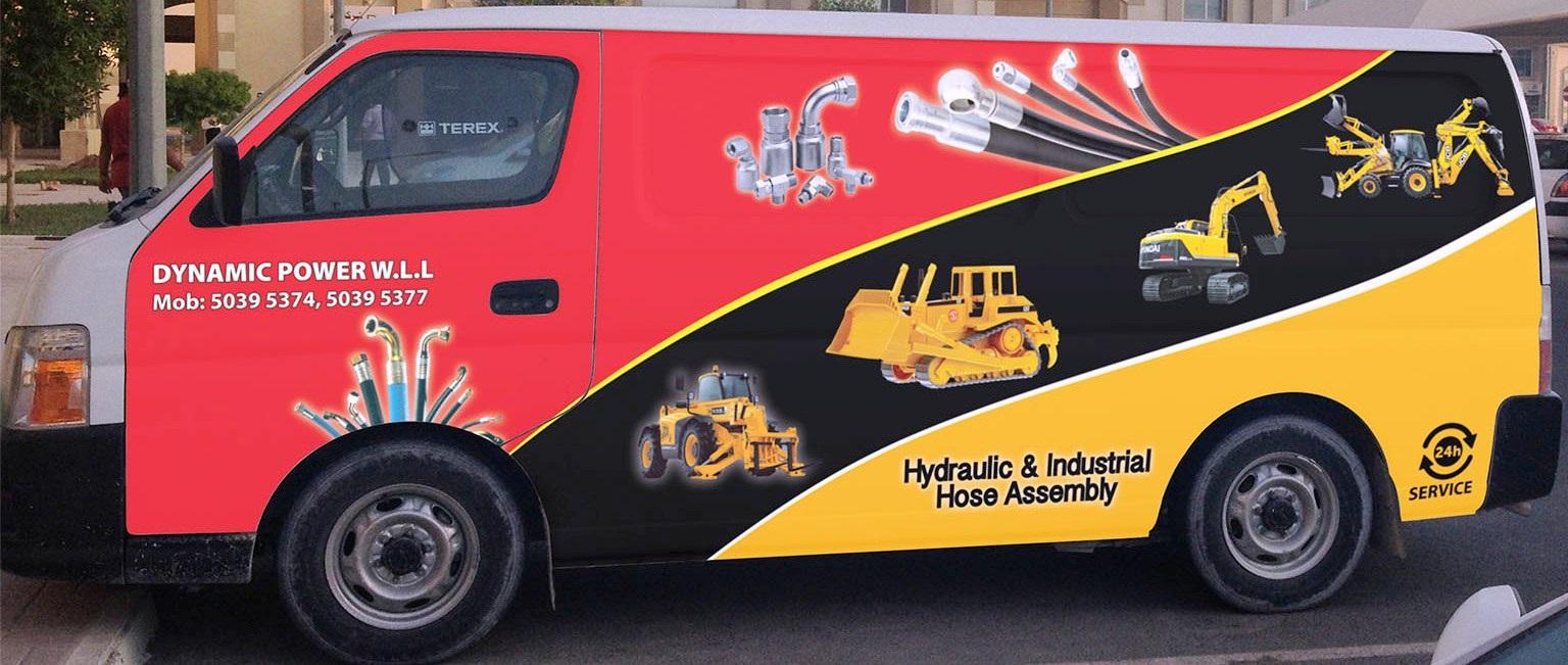 mobile  van  hydraulic hose services in qatar