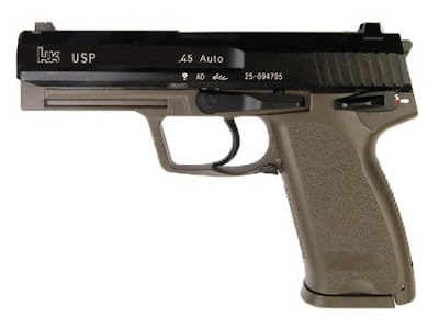FALCON HK USP .45 ( OD / Metal Slide & Metal outer barrel )• ราคา 2900 บาท