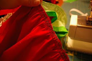 sun scholars: watermelon skirt tutorial