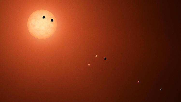 El sistema planetario TRAPPIST-1 tiene más posibilidades de albergar vida que la Tierra