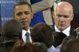 SAIC of PPD (now Director) Joe Clancy with President Obama