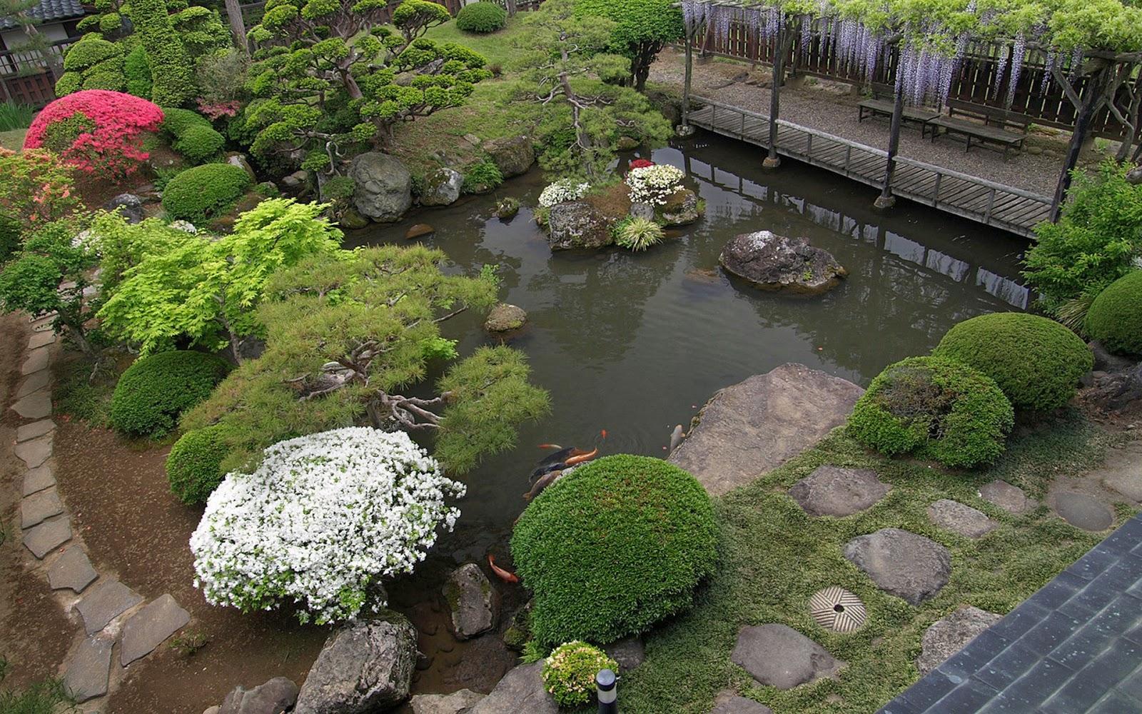 Arte y jardiner a principios para el dise o del jard n for Jardin japones piscina