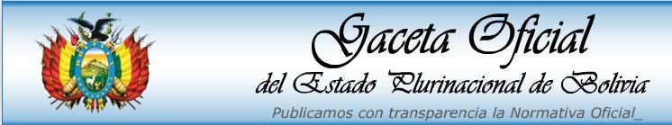 Ingresa a la página de GACETA OFICIAL DE BOLIVIA