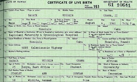 Kim Kardashian: kenyan birth certificate obama