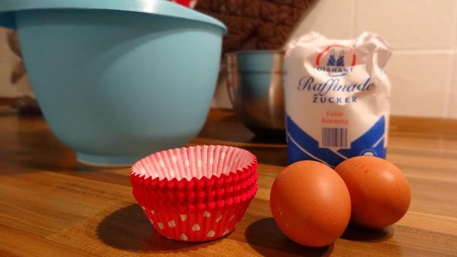 Schoko-Muffins mit Käsekuchen-Füllung