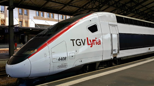 Super fast trains in europe