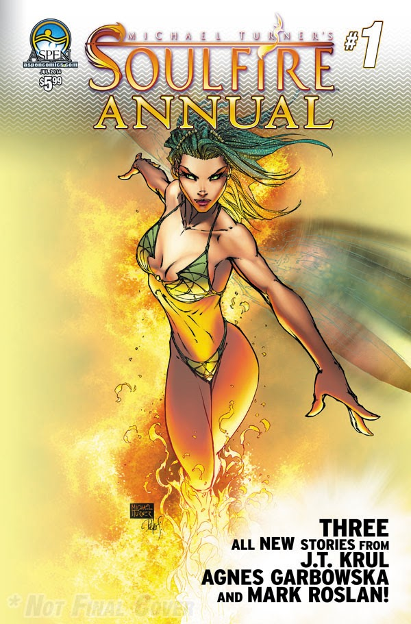 Aspen Comics Solicitation for July 2014