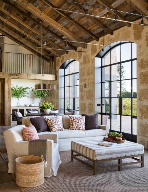 Mix di stili per la casa di campagna case e interni for Stili case