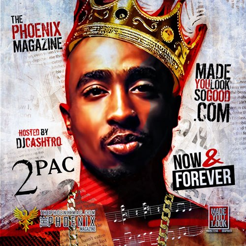Tupac Mixtape Covers