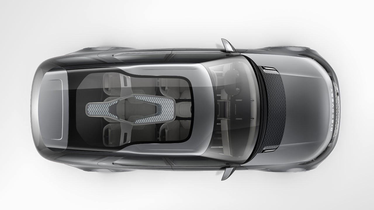 Land Rover Discovery Vision Concept top
