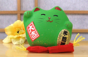 Healthy Body, Mind &amp; Spirit Maneki Neko Cat