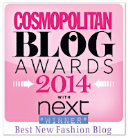 Cosmopolitan 'Best New Fashion blog' 2014